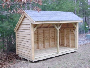 Firewood Shed  - Victoria Firewood Inc